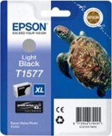 EPSON ORIGINAL - Epson T1577XL Gris (25,9 ml) Cartouche de marque