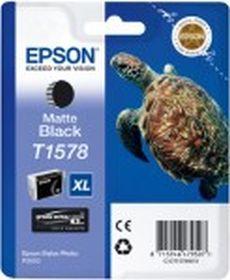 EPSON ORIGINAL - Epson T1578XL Noir Mat (25,9 ml) Cartouche de marque