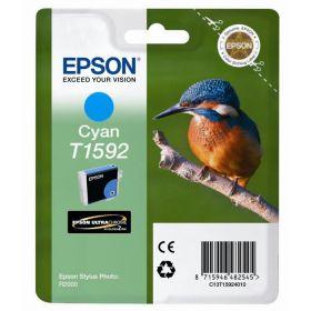 EPSON ORIGINAL - Epson T1592 Cyan (17 ml) Cartouche de marque