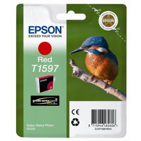 EPSON ORIGINAL - Epson T1597 Rouge (17 ml) Cartouche de marque