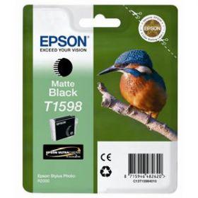 EPSON ORIGINAL - Epson T1598 Noir Mat (17 ml) Cartouche de marque