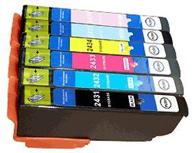 UPRINT - UPrint 24XL Pack 6 cartouches génériques Epson Qualité Premium T2438XL