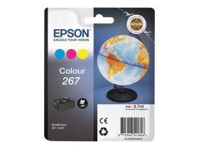 EPSON ORIGINAL - Epson 267 couleurs (6,7 ml) Cartouche de marque Série 267