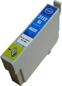 COMPATIBLE EPSON - 27XL cyan (18 ml) Cartouche générique T2712 avec puce