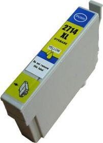 COMPATIBLE EPSON - 27XL jaune (18 ml) Cartouche encre génériques T2714 avec puce
