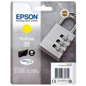 EPSON ORIGINAL - Epson 35 Jaune (9,1 ml) Cartouche de marque T3584