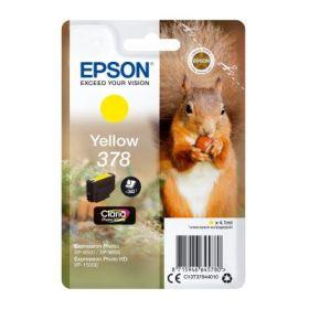 EPSON ORIGINAL - Epson 378 Jaune (4,1 ml) Cartouche de marque
