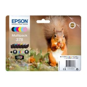 EPSON ORIGINAL - Epson 378 Multipack de 6 cartouches de marque