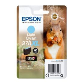 EPSON ORIGINAL - Epson 378XL Photo Cyan (10,3 ml) Cartouche de marque