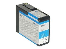 EPSON ORIGINAL - Epson T5802 Cyan (80 ml) Cartouche de marque