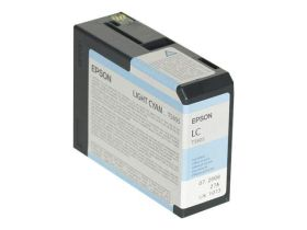 EPSON ORIGINAL - Epson T5805 Cyan Clair (80 ml) Cartouche de marque