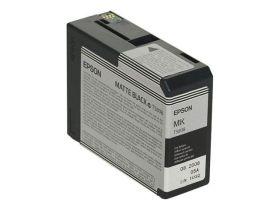 EPSON ORIGINAL - Epson T5808 Noir Mat (80 ml) Cartouche de marque