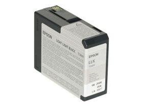 EPSON ORIGINAL - Epson T5809 Gris Clair (80 ml) Cartouche de marque