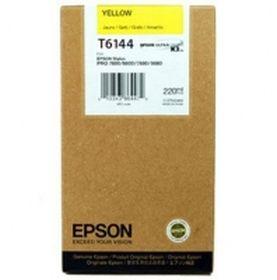 EPSON ORIGINAL - Epson T6144 Jaune (220ml) Cartouche de marque