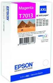 EPSON ORIGINAL - Epson T7013 magenta (3400 pages)  Cartouche de marque XXL