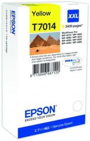 EPSON ORIGINAL - Epson T7014 jaune (3400 pages) Cartouche de marque XXL