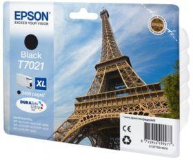 EPSON ORIGINAL - Epson T7021 XL noire (2400 pages) Cartouche de marque
