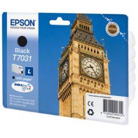 EPSON ORIGINAL - Epson T7031 Noir (1200 pages) Cartouche de marque