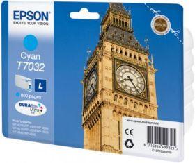 EPSON ORIGINAL - Epson T7032 Cyan (800 pages) Cartouche de marque