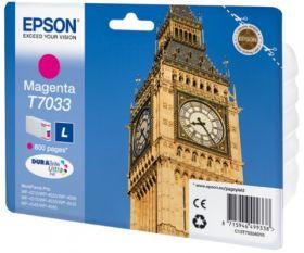 EPSON ORIGINAL - Epson T7033 Magenta (800 pages) Cartouche de marque