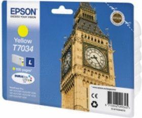 EPSON ORIGINAL - Epson T7034 Jaune (800 pages) Cartouche de marque