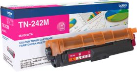 BROTHER ORIGINAL - Brother TN-242M Magenta (1400 pages) Toner de marque