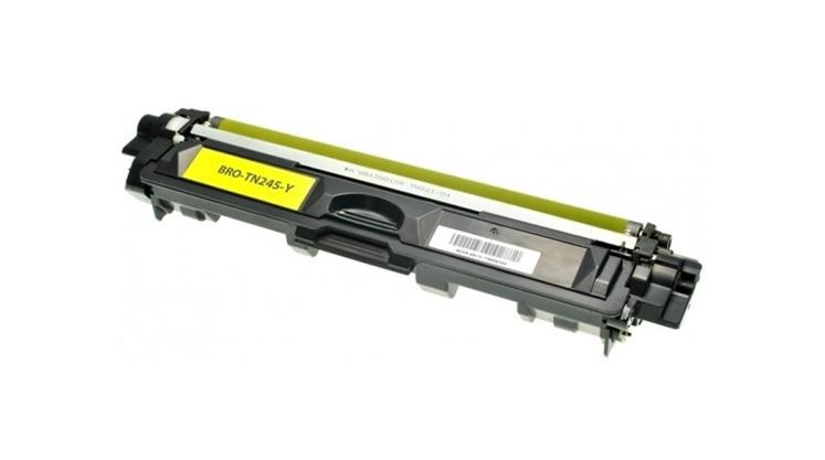 COMPATIBLE BROTHER - TN-245 Jaune (2200 pages) Toner générique