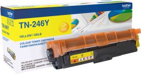 BROTHER ORIGINAL - Brother TN-246Y Jaune (2200 pages) Toner de marque