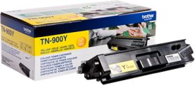 BROTHER ORIGINAL - Brother TN-900Y Jaune (6000 pages) Toner de marque