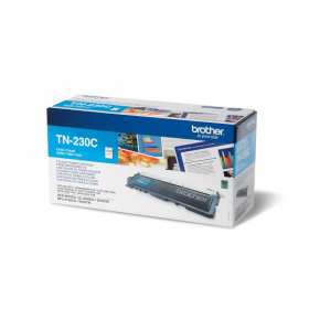 BROTHER ORIGINAL - Brother TN-230C Cyan (1400 pages) Toner de marque