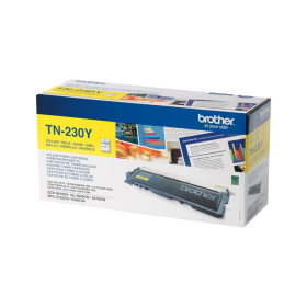 BROTHER ORIGINAL - Brother TN-230Y Jaune (1400 pages) Toner de marque