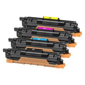 COMPATIBLE BROTHER - TN-247 Pack de 4 toners génériques noir, cyan, magenta, jaune