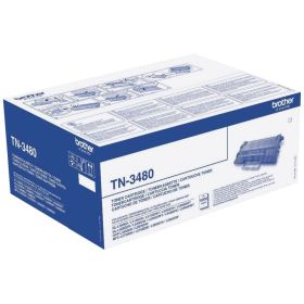 BROTHER ORIGINAL - Brother TN-3480 Noir (8000 pages) Toner de marque