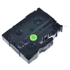 COMPATIBLE BROTHER - TZE-111 Ruban laminé générique noir sur transparent, 6mm sur 8 mètres pour imprimante P-Touch