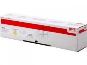 OKI ORIGINAL - OKI 43837129 Jaune (22000 pages) Toner de marque