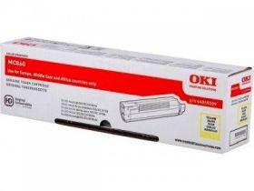 OKI ORIGINAL - OKI 44059209 Jaune (10000 pages) Toner de marque