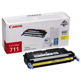 CANON ORIGINAL - Canon 711 Jaune (6000 pages) Toner de marque
