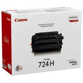 CANON ORIGINAL - Canon 724H Noir (12500 pages) Toner de marque