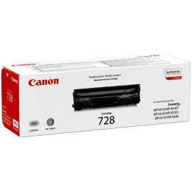 CANON ORIGINAL - Canon 728 Noir (2100 pages) Toner de marque