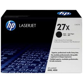 HP ORIGINAL - HP 27X / C4127X Noir (10000 pages) Toner de marque