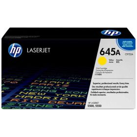HP ORIGINAL - HP 645A / C9732A Jaune (12000 pages) Toner de marque