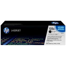 HP ORIGINAL - HP 125A / CB540A Noir (2200 pages) Toner de marque