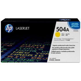 HP ORIGINAL - HP 504A / CE252A Jaune (7000 pages) Toner de marque