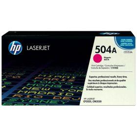 HP ORIGINAL - HP 504A / CE253A Magenta (7000 pages) Toner de marque