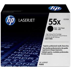 HP ORIGINAL - HP 55X / CE255X Noir (12500 pages) Toner de marque