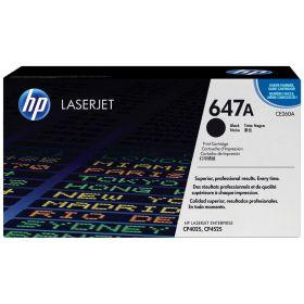 HP ORIGINAL - HP 647A / CE260A Noir (8500 pages) Toner de marque