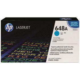 HP ORIGINAL - HP 648A / CE261A Cyan (11000 pages) Toner de marque