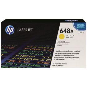 HP ORIGINAL - HP 648A / CE262A Jaune (11000 pages) Toner de marque