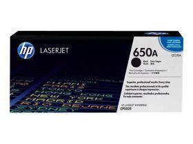 HP ORIGINAL - HP 650A / CE270A Noir (13500 pages) Toner de marque