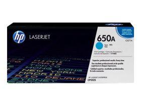 HP ORIGINAL - HP 650A / CE271A Cyan (15000 pages) Toner de marque